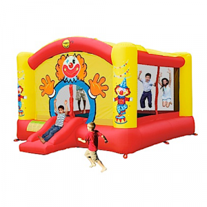 Super Clown Jumping Castle with sun cover