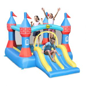 Castle Bouncer with Double Slide